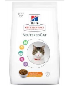 Hill's VetEssentials Neutered Cat Young Adult Poulet 14 kg