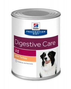 Hill's Prescription Diet Canine I/D Dinde 12 x 360 grs- La Compagnie des Animaux