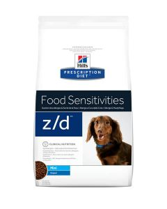 Hill's Prescription Diet Canine Z/D MINI Allergy & Skin Care 1.5 kg- La Compagnie des Animaux