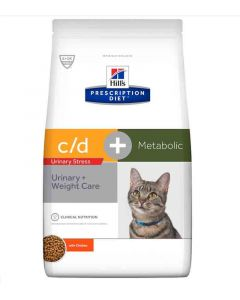 Hill's Prescription Diet C/D Urinary Stress + Metabolic 4 kg