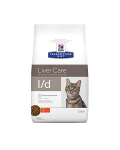 Hill's Prescription Diet Feline L/D 1.5 kg- La Compagnie des Animaux