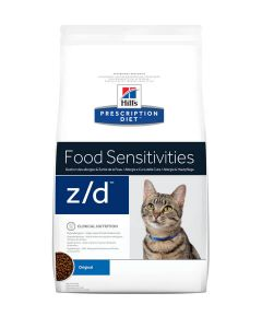 Hill's Prescription Diet Feline Z/D Allergy & Skin Care 2 kg- La Compagnie des Animaux