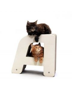 Homycat Griffoir pour chat lettre A