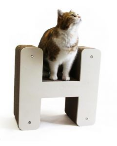 Homycat Griffoir pour chat lettre H