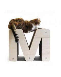 Homycat Griffoir pour chat lettre M