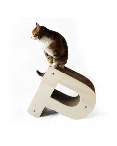 Homycat Griffoir pour chat lettre P