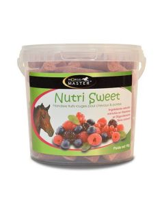 Horse Master Nutri Sweet Friandise FRUITS ROUGES cheval 1kg - La Compagnie des Animaux