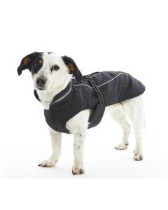 Imperméable noir Outdoor Wear Buster chien XS