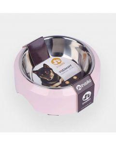 Inooko Gamelle Yoomy pour chien et chat rose 300 ml- La Compagnie des Animaux