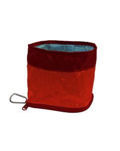 Kurgo Abreuvoir de voyage Zippy rouge 1,4 L