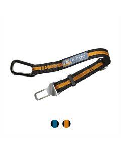 Kurgo Attache ceinture de sécurité orange - La Compagnie des Animaux