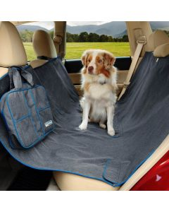 Kurgo Heather Hammock protège siège arrière pour voiture chien