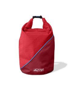 Kurgo sac de transport croquettes rouge