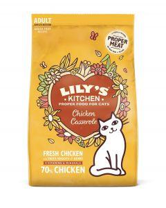 Lily's Kitchen Croquettes Sans céréales au Poulet Chat 2 kg