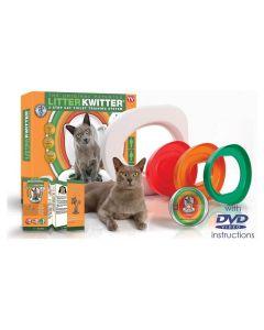 Litière Litter Kwitter kit de toileltte pour Chat