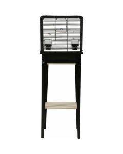Zolux Cage Chic Loft Noir pour oiseaux S