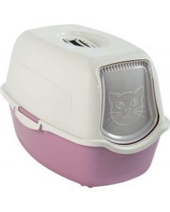 Maison de toilette pour chat Rotho Mypet Rose - La Compagnie des Animaux