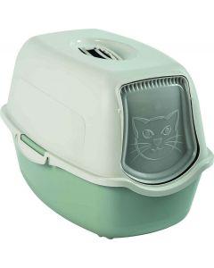 Maison de toilette pour chat Rotho Mypet Vert Menthe - La Compagnie des Animaux