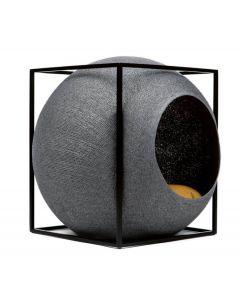 Meyou Le Cube gris foncé pour chat