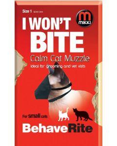 Muselière nylon Mikki pour chat T2