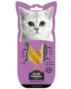 My little Friandise Filet de poulet grillé pour chat 30 g- La Compagnie des Animaux