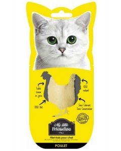 My little Friandise Filet de poulet pour chat 30 g- La Compagnie des Animaux