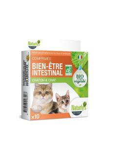 Naturlys bien-être intestinal Bio chaton et chat 10 cps