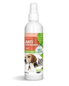 Naturlys Spray Anti-démangeaisons Bio chien et chat 240 ml