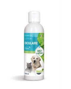 Naturlys Lotion Oculaire Bio pour chien et chat 125 ml