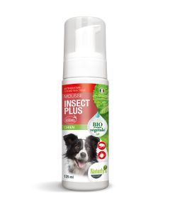 Naturlys mousse insect plus Bio chien 125 ml