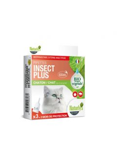 Naturlys pipettes insect plus Bio chaton et chat x3