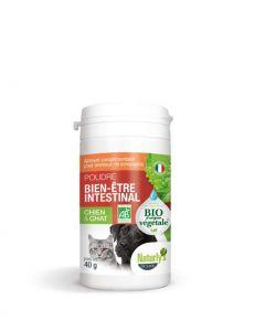 Naturlys poudre hygiène intestinale Bio pour chien et chat 40 g