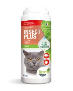 Naturlys poudre insect plus Bio chat 100 grs