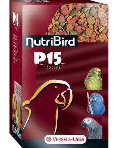 Nutribird P 15 Tropical Perroquet 4 kg