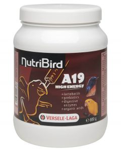 NutriBird A 19 High Energy 800 g - La Compagnie des Animaux