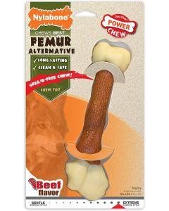 Nylabone Power Chew Alternative Femur au boeuf XL - La Compagnie des Animaux