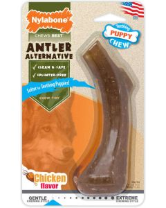 Nylabone Puppy Teething Chew Alternative Antler XS - La Compagnie des Animaux