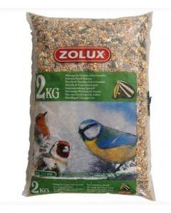 Zolux mélange oiseaux du jardin 2 kg- La Compagnie des Animaux