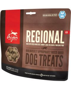 Orijen Regional Red Dog Treats chien 42,5 g - La Compagnie des Animaux