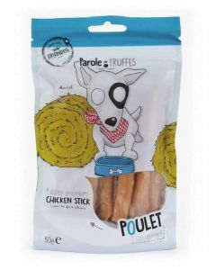 Parole de Truffes Friandises Bâtonnets de Poulet pour chien 80 g- La Compagnie des Animaux