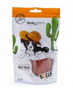 Parole de Truffes Friandises Filet de boeuf pour chien 80 g- La Compagnie des Animaux