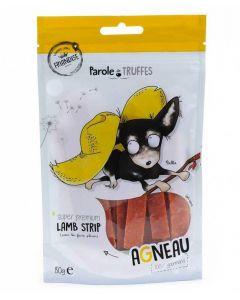 Parole de Truffes Friandises Lamelles d'agneau pour chien 80 g- La Compagnie des Animaux