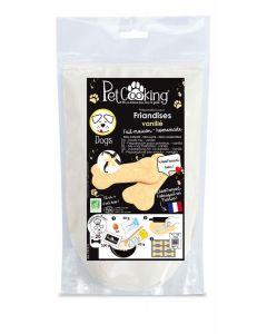 PetCooking Préparation Friandises Biscuits Vanillés pour chien 200 g