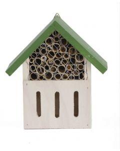 Plume & Compagnie Hotel à insectes petite taille 2 compartiments- La Compagnie des Animaux