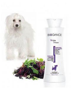 Biogance Shampooing Poils Blancs pour Chien, Chiot et Chat 250 ml