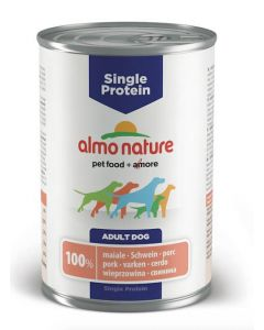 Almo Nature Chien Single Protein Porc 24 x 400 grs