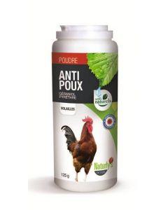 Naturlys poudre aviaire anti poux 125 grs