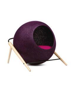 Meyou La Ball prune pour chat