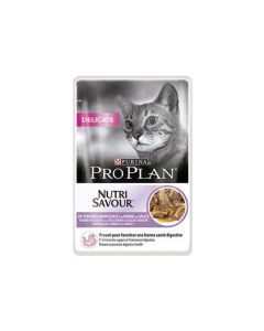 Purina Proplan Cat Nutrisavour Delicate Dinde 24 pochons 85 grs