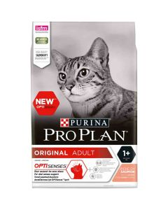 Purina Proplan Cat Original Adult Saumon 3 kg- La Compagnie des Animaux